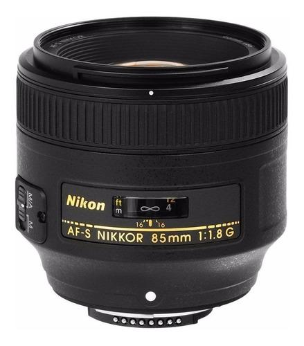 Nikon Af-s Nikkor 85mm F/1.8 G Lens 85 F1.8