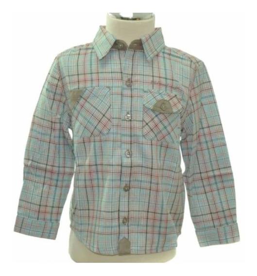 Camisa Niño Manga Larga Boboli 314097 (mim)