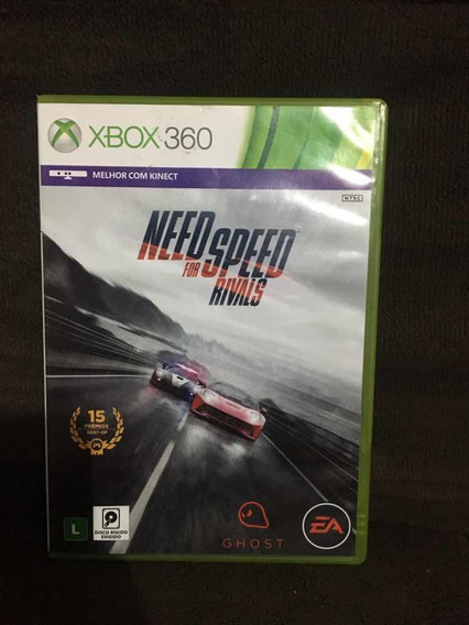 Jogo Xbox 360 Need For Speed Rivals Mídia Física Original