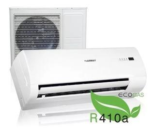 Aire Acondicionado 18000 Btu Airway Gas Ecológico R410