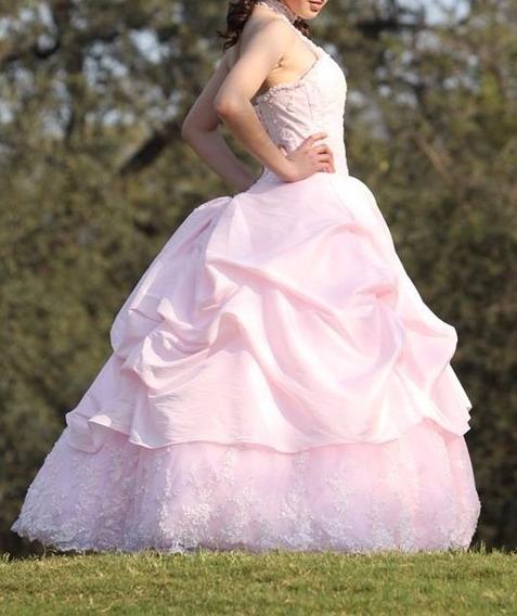 Vestido Xv Años Rosa (1,999 Oferta)
