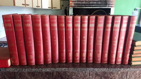 Enciclopédia Barsa 16 Volumes + 2 Dicionários