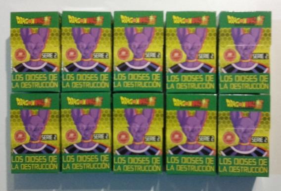 10 Cajas De Cartas Del Juego De Cartas Dragón Ball Z Serie 2
