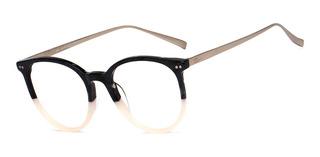 Armação Oculos Ogrife Og 749-c Feminino Com Lente Sem Grau