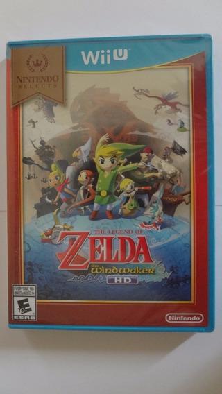 The Legend Of Zelda The Windwaker Wii U Novo E Lacrado