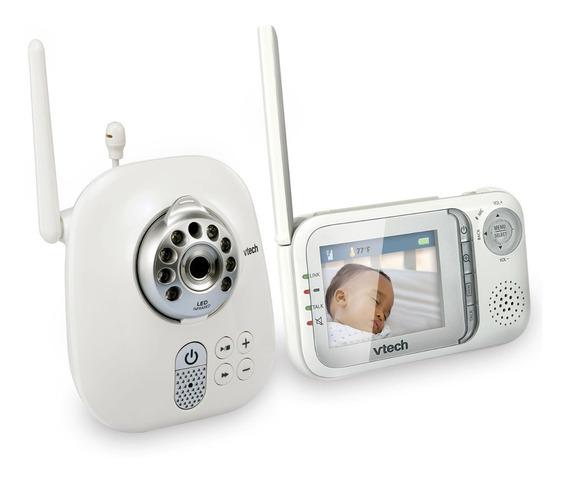 Camara Video Monitor Para Cuidar Bebes Visión Nocturna Auto