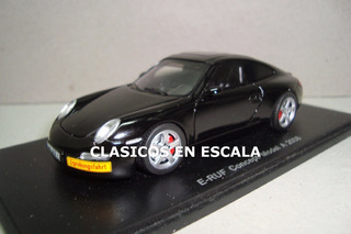 Porsche E-ruf Concept Model A 2008 - Supercar - S Spark 1/43