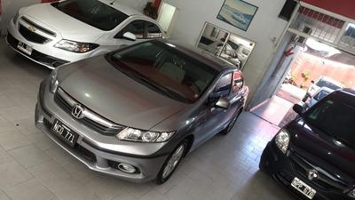 Honda Civic 1.8 Lxs At 140cv 2013