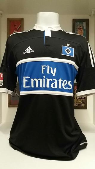 Camisa Futebol adidas Hamburgo Preparada Jogo Bundesliga