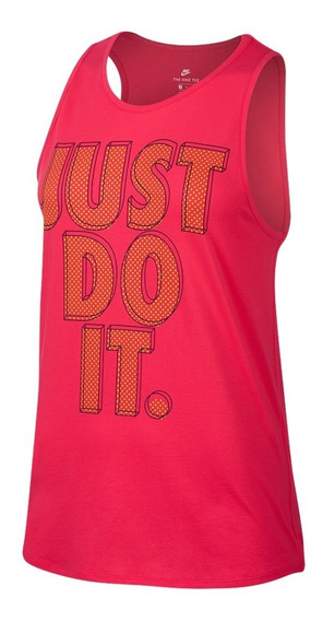 Musculosa Nike Just Do It Rosa Mujer