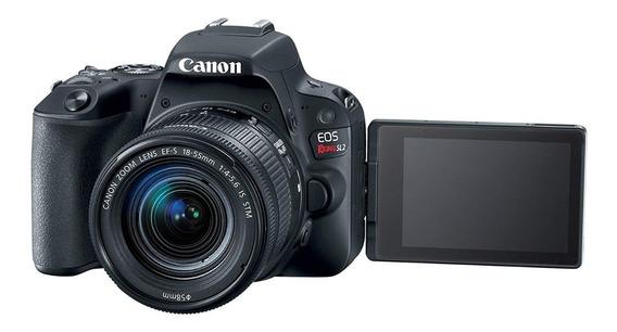 Câmera Profissional Canon Eos Rebel Sl2 32gb18-55 Stm Nf