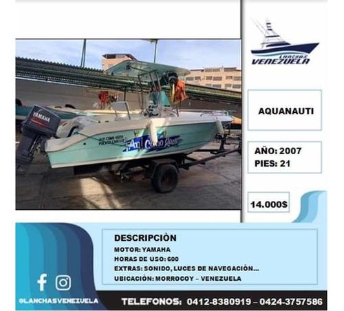 Lancha Aquanauti 21 Lv201