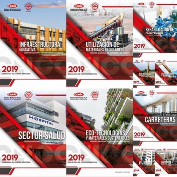 Catalogos De Costos Cmic 2018 - 2019 Precios Unitarios Pdf