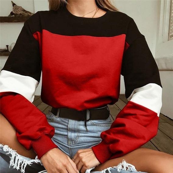 Moletom Com Costura Sweatershirts