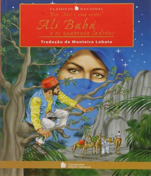 Livro Ali Baba E Os Quarenta Ladroes