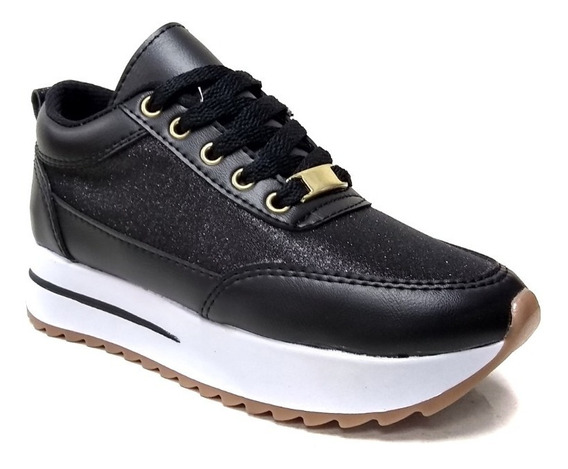 Zapatos Casuales Damas Suela Alta adidas Doble Piso Moda