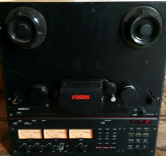 1 Gravador Analogico Fostex Stereo Modelo: E 2