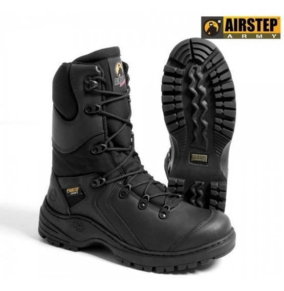 Coturno Air Step Black Squad 8990-1 S/juros