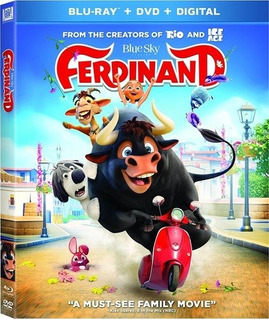 Blu-ray : Ferdinand (with Dvd, Digital Theater System, 2...