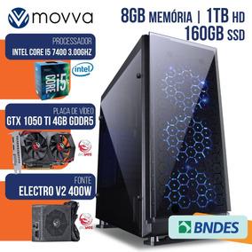 Computador Gamer Mvx5 Intel I5 7400 3.0ghz 7ª Ger.