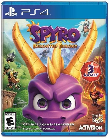 Spyro Reignited Trilogy Ps4 Mídia Física
