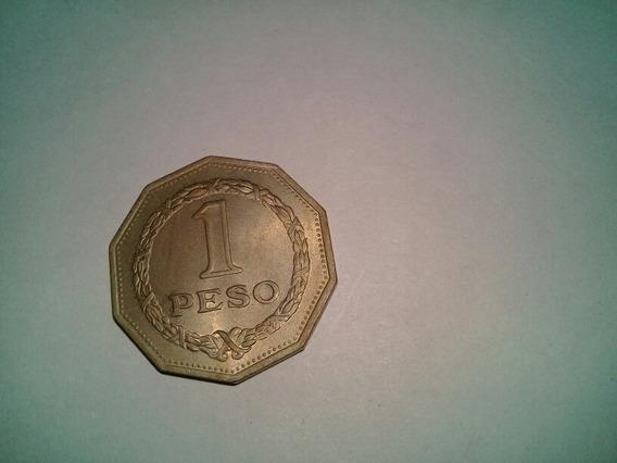 Moneda 1 Peso Colombia 1967 Sin Circular