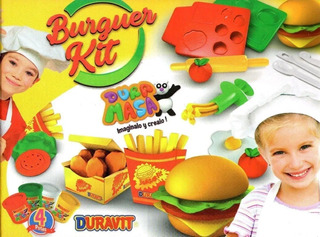 Burger Kit Masas Duravit - Vavi Toys