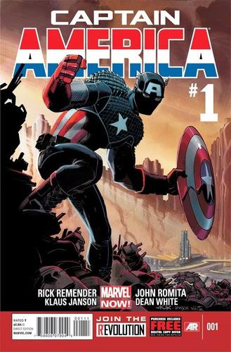 Capitan América Vol 7 Cómics Digital Español