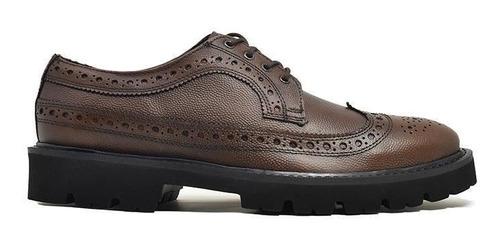 Imagen 1 de 5 de Zapatos Cómodos Color Café Estilo Longwing I Viceversa