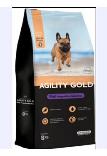 Imagen 1 de 1 de Agility Gold Piel Pequeños Adultos 8 - kg a $17075