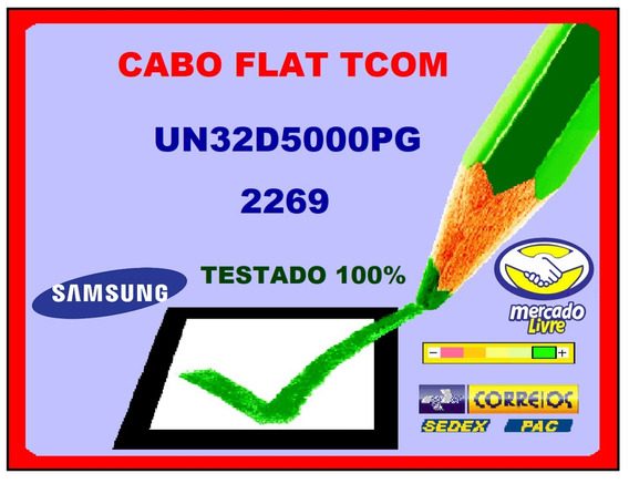 Cabo Flat Tcom Samsung Un32d5000 Final 2269 O Par