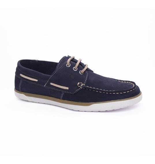 Sapato Casual Estilo 100% Couro Moderno Homem Conforto