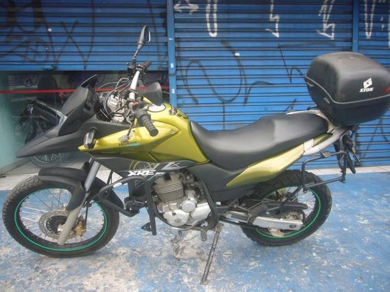 Honda Xre 300 Ano 2012 Verde Troca Financia