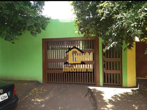 Casa Com 5 Dormitórios À Venda, 68 M² Por R$ 371.000,00 - Jardim Florestan Fernandes - Ribeirão Preto/sp - Ca0803