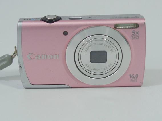 Camera Fotográfica Canon A2600 16mp Barata Promoção +brindes