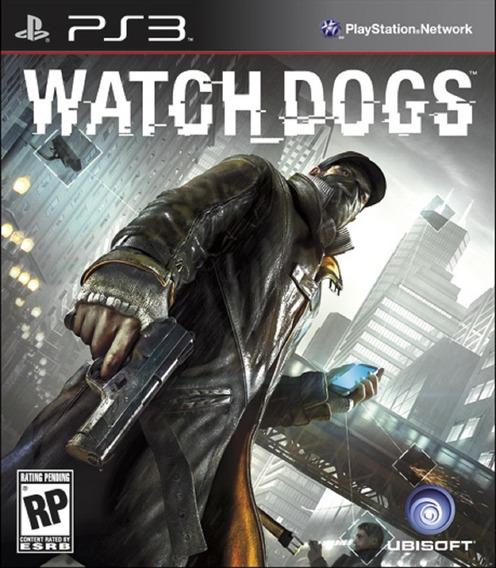 Watch Dogs - Ps3psn - Envio Já - Dublado