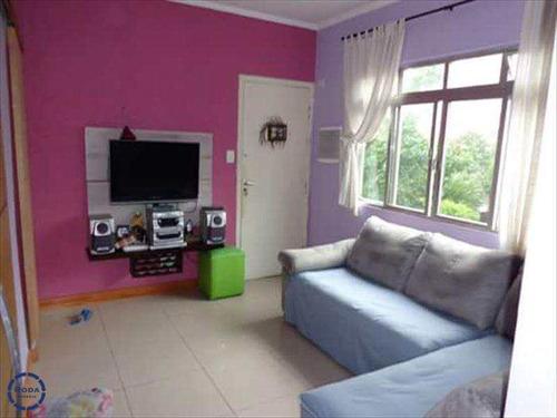 Apartamento Em São Vicente Bairro Itararé - V5426