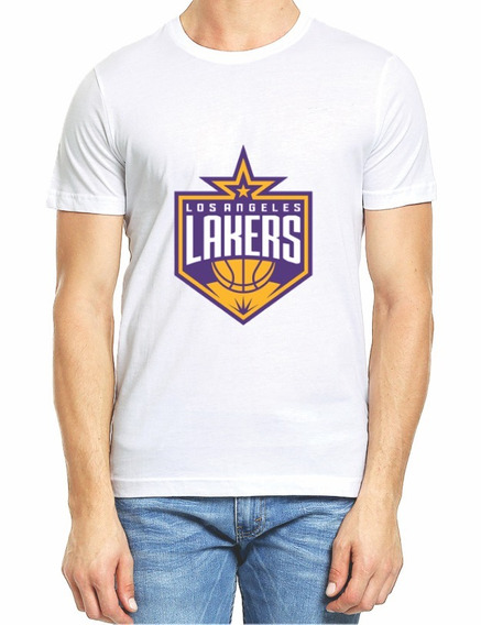 Playera Lakers La Nba Caballero M2