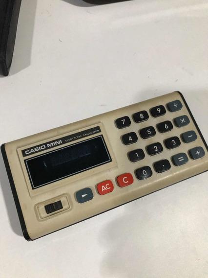 Casio Calculadora Eletrônica Mini Modelo Cm-605