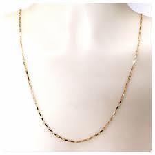 Corrente Masculina Em Ouro Maciço 3.25 Gramas 60 Centimetros