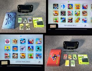 Nintendo Wii U 1tb + 290 Juegos + 5000 Clásicos Nes/snes/etc