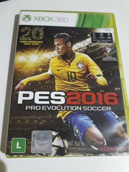 Pes 2016 Xbox 360 Mídia Física