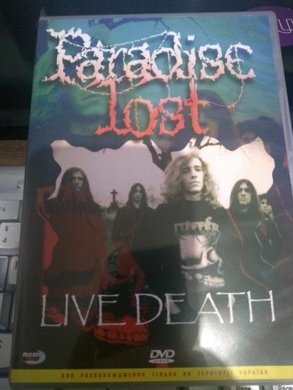 Paradise Lost - Live Death Dvd - 2004 - Importado - Perfeito