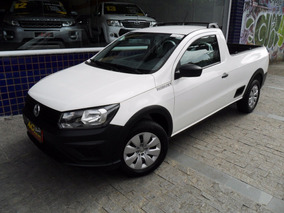 Vw Saveiro Msi Robust Cs 2017 Flex Completa Branca 8000 Km