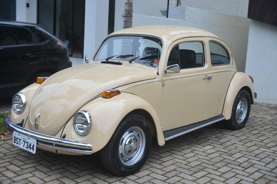 Volkswagen Fusca 1.600 C 2 Carburador