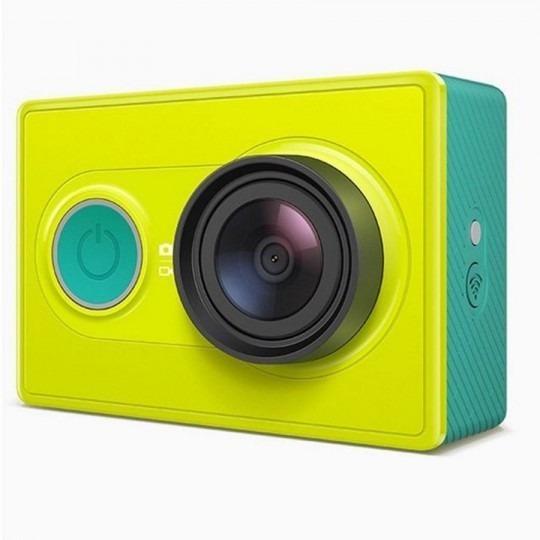 Câmera Yi Xiaomi A7ls Ambarella Verde 1080p Full Hd Wifi