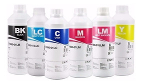 06 Litros Tinta Inktec Impressora L800 L805 L1800 T50 1430w