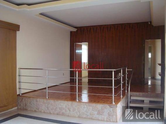 Casa Comercial Para Locação, Boa Vista, São José Do Rio Preto. - Ca0019