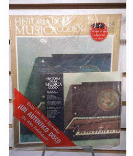 Historia De La Musica Codex 63 Fasiculo Y Disco Lp Acetato