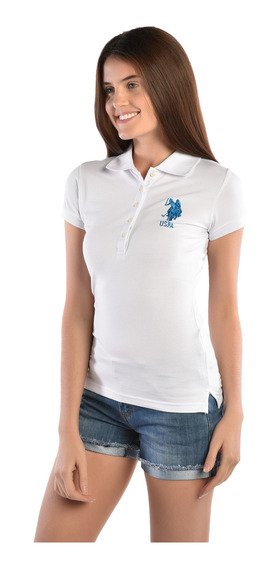 Polo Regular Fit U.s. Polo Multicolor Uslpl411545 Dama